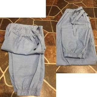 Celana panjang strip
