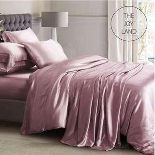 Luxurious 100% Natural Silk Bedding Bedsheets set