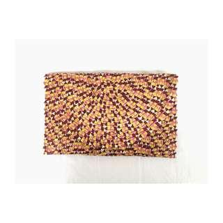 Handmade - Ethnic Envelope Clutch (retro color)