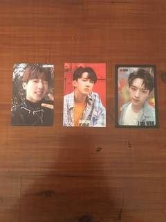 Stray Kids Official Photocards.