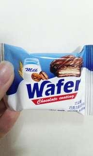 Chocolate coating wafer朱古力威化