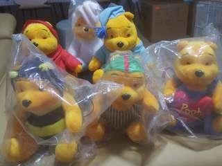 McDonalds winnie the pooh collectors items