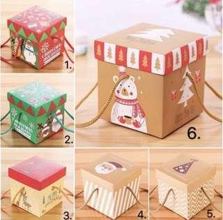 🚚 (Self- Fold) Christmas Gift Box — Set of 5pcs