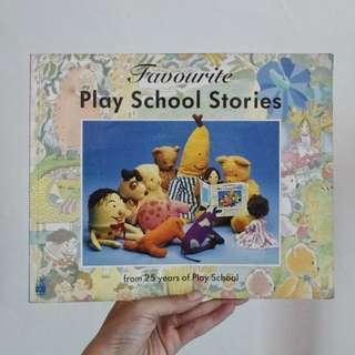 Children's Book: Favourite Playschool Stories (Buku Anak)