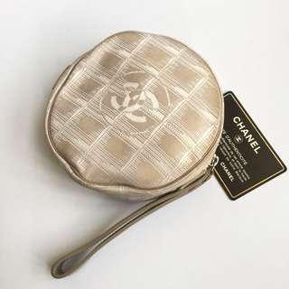 auth chanel pouch coin bag