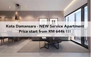 NEW Kota Damansara service apartment @ premium location near Segi college !!!