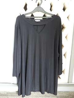 Catherines Black Blouse (3XL)
