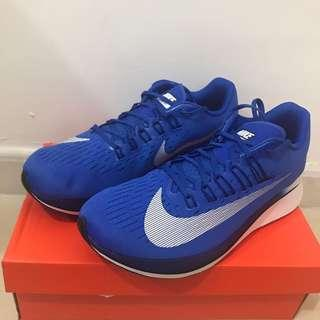 Nike zoom fly blue running shoes 跑鞋 2017