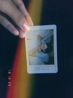 SEVENTEEN OFFICIAL PHOTOCARD JEONGHAN MINI POLAROID (from L&L repack album's)