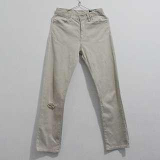 Woman High-Rise Straight Pants / Trousers