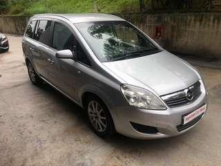 Opel Zafira 1.8 MTA Auto