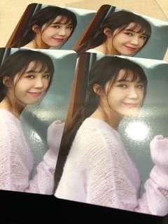 WTT Apink Eunji Hyehwa Hye hwa Album pcs