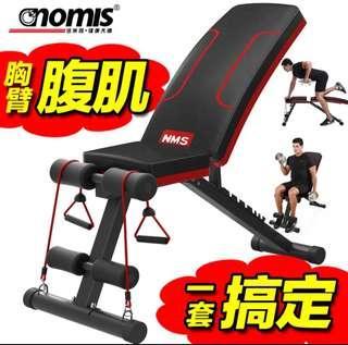 GYM bench 健身椅仰卧起坐板多功能哑铃凳折叠家用卧推凳健身器材腹肌