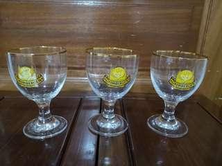 GRIMBERGEN BEER GLASSES 0.25l