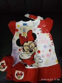 Baby dress minnie