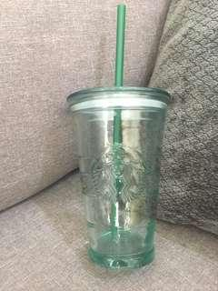 Starbuks Glass tumbler
