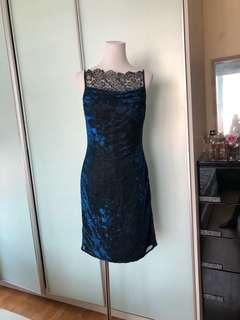 Front Lace Dinner Dress