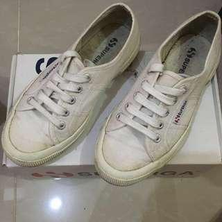 Superga All White
