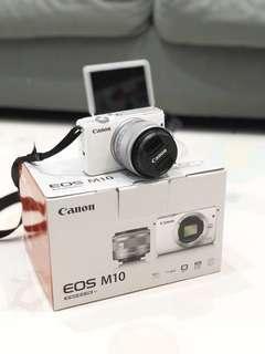 Canon Eos M10 second mulus