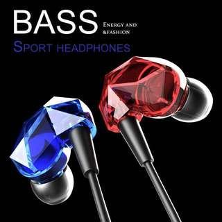 💎diamond cut super bass earphone