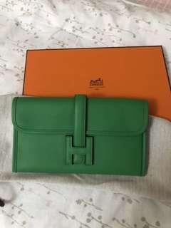 Hermès Jige Duo wallet