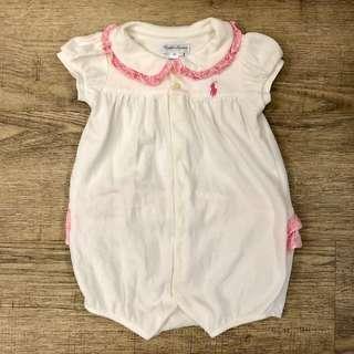 Ralph Lauren baby girl romper 12m