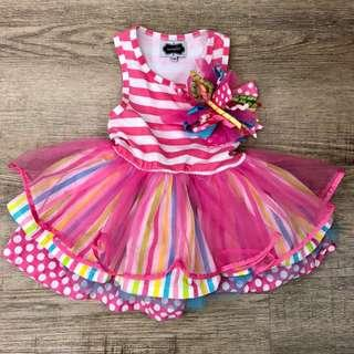 Mudpie party dress 12-18m