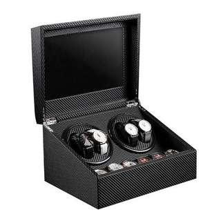 4 + 6 Carbon Fiber Watch Winder