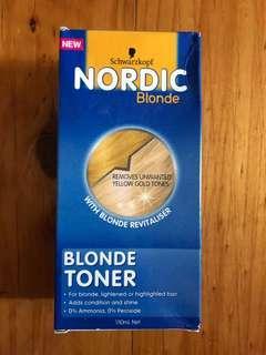 Nordic bleach hair