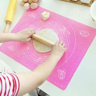 Large Silicone Roll Mat Square Rolling Cutting NKT01