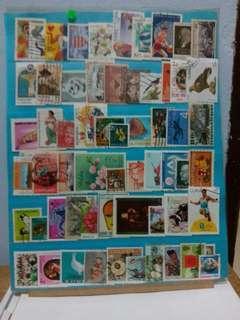 Worldwide Stamps 60 pcs Set22