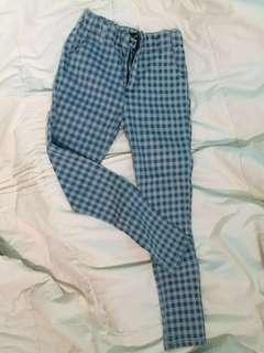 Celana jeans motif