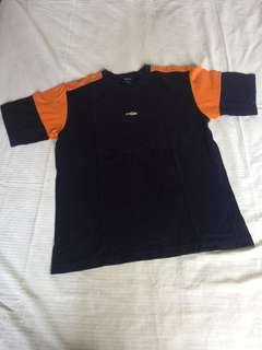 Tshirt osella navy orange