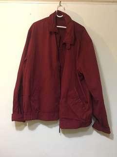 🚚 酒紅美式外套