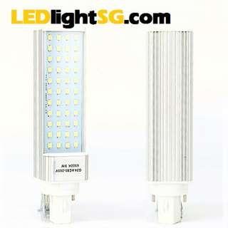 G24 LED 9W PLC Downlight Replacement Bulb Taiwan Chip 1 yr warranty (white / warm white), square 2 pin base
