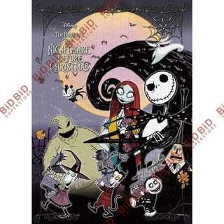 THE NIGHTMARE BEFORE CHRISTMAS 聖誕夜驚魂 怪誕城之夜 Jack Puzzle Decoratio 裝飾 砌圖 拼圖 500pcs Celebrate Spooky DINSEY 迪士尼