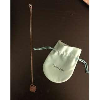 Lightly used Tiffany & Co Heart pendant - Great condition