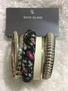 RIVER ISLAND Bangles (6 pieces)