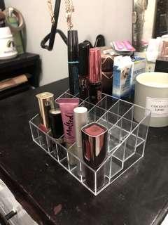 Rak akrilik acrylic lipstick