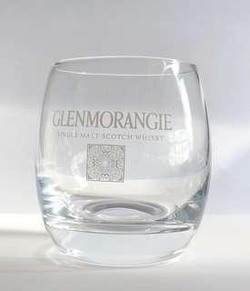 一隻Glenmorangie 威士忌tumbler, 3吋半高,全新。