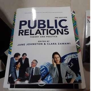 Public Relations - Theory and Practice (3rd Edition) By Jane Johnston and Clara Zawawi