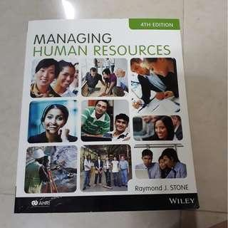 Managing Human Resources (4th Edition) by Raymond J Stone