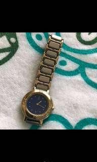 YSL 2-tone watch