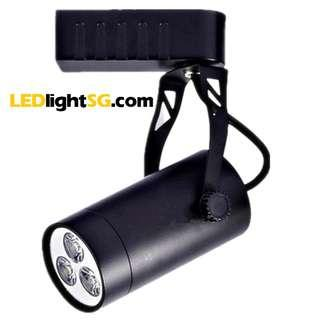 3W LED Track Spot Light ( White / Warm White ) Taiwan Chip and Driver Lamp 1yr Warranty