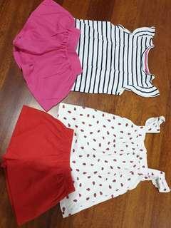 Mothercare summer sets for girls