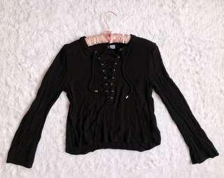 Divided by H&M criss cross boho top