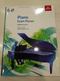Grade 6 Exam Pieces 2019-20 with CD