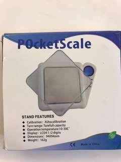 Electronic pocket scale/weigher