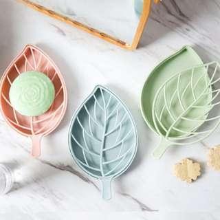 Leaf / Soap Case / Pastel / Soap / Holder