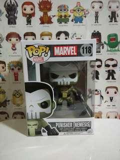 🚚 Funko Pop Punisher Nemesis Vinyl Figure Collectible Toy Gift Movie Comic Marvel